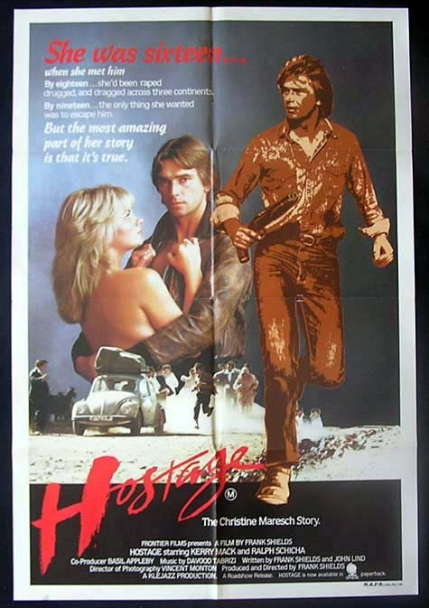 HOSTAGE One sheet Movie poster1983 Frank Shields Australian