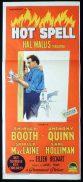 HOT SPELL Original Daybill Movie Poster SHIRLEY BOOTH Shirley MacLaine Richardson Studio