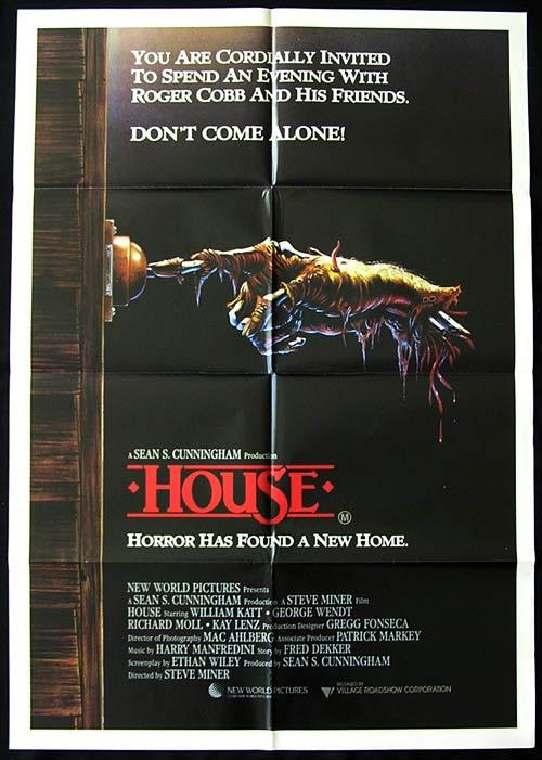 HOUSE Original Australian One sheet Movie poster Kimiko Ikegami Horror