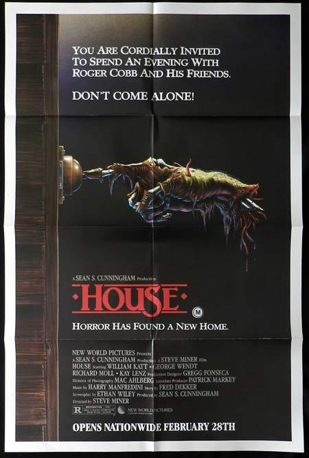 HOUSE Original US One sheet Movie poster Kimiko Ikegami Horror