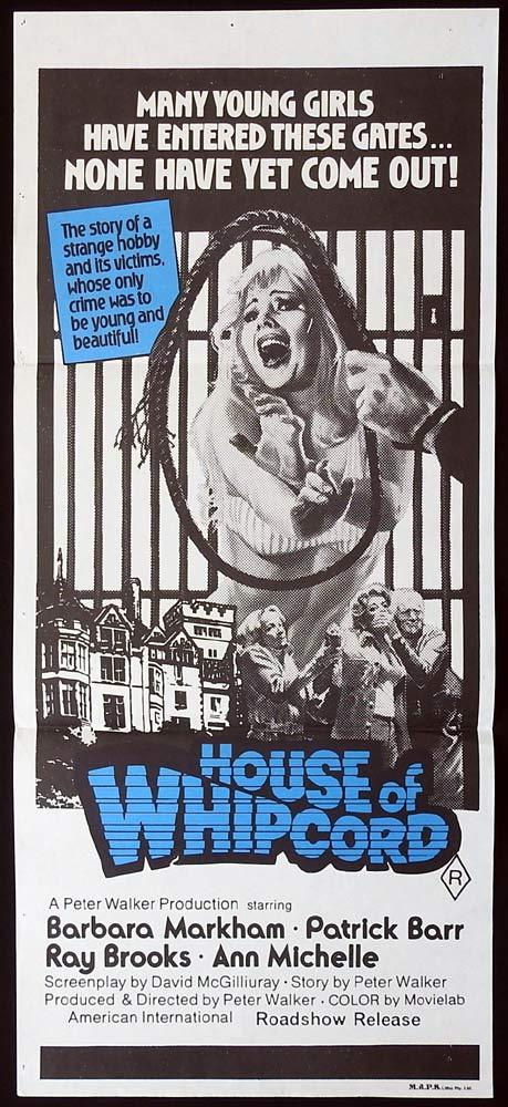 HOUSE OF WHIPCORD Original Daybill Movie Poster Barbara Markham Patrick Barr Horror
