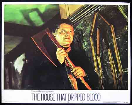 HOUSE THAT DRIPPED BLOOD, The '71 ORIGINAL US Lobby card #1