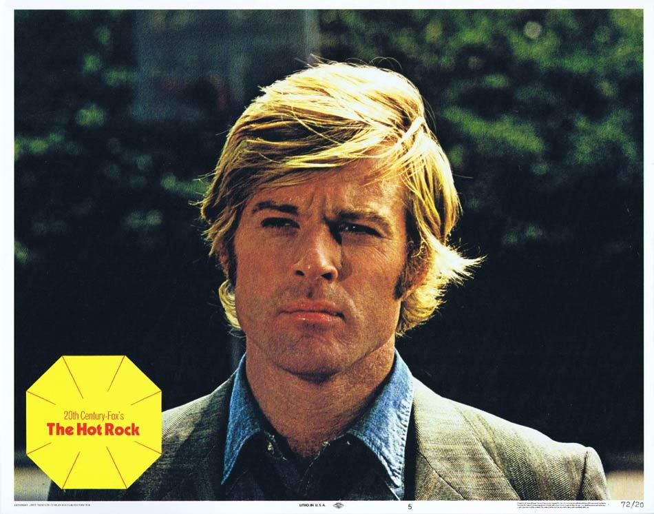 THE HOT ROCK Lobby Card 5 Robert Redford George Segal Ron Leibman