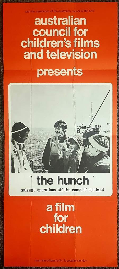 THE HUNCH Daybill Movie Poster Australian Council for Childrens Film and TV