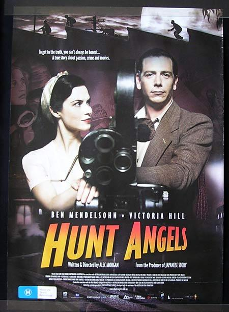 HUNT ANGELS Movie Poster 2006 Ben Medelsohn Australian one sheet