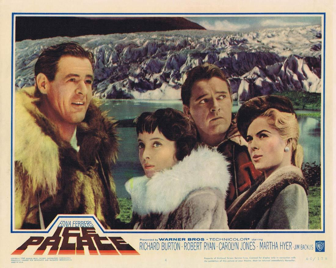 ICE PALACE Lobby Card 4 Richard Burton Robert Ryan Carolyn Jones Martha Hyer