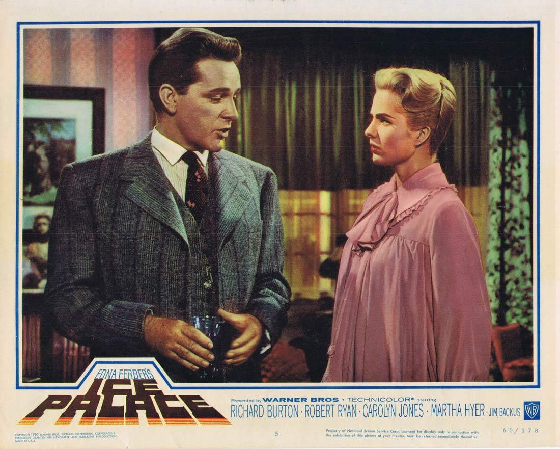 ICE PALACE Lobby Card 5 Richard Burton Robert Ryan Carolyn Jones Martha Hyer