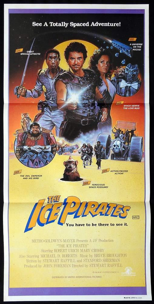 The Ice Pirates Lobby Card Movie Poster Robert Urich