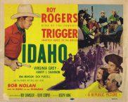 IDAHO Original Title Lobby Card Roy Rogers VIrginia Grey 1955r