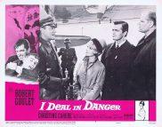 I DEAL IN DANGER Lobby Card 7 Robert Goulet Christine Carère