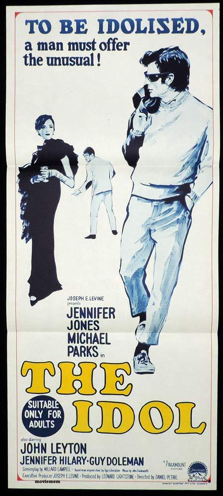 THE IDOL Daybill Movie Poster Jennifer Jones Michael Parks