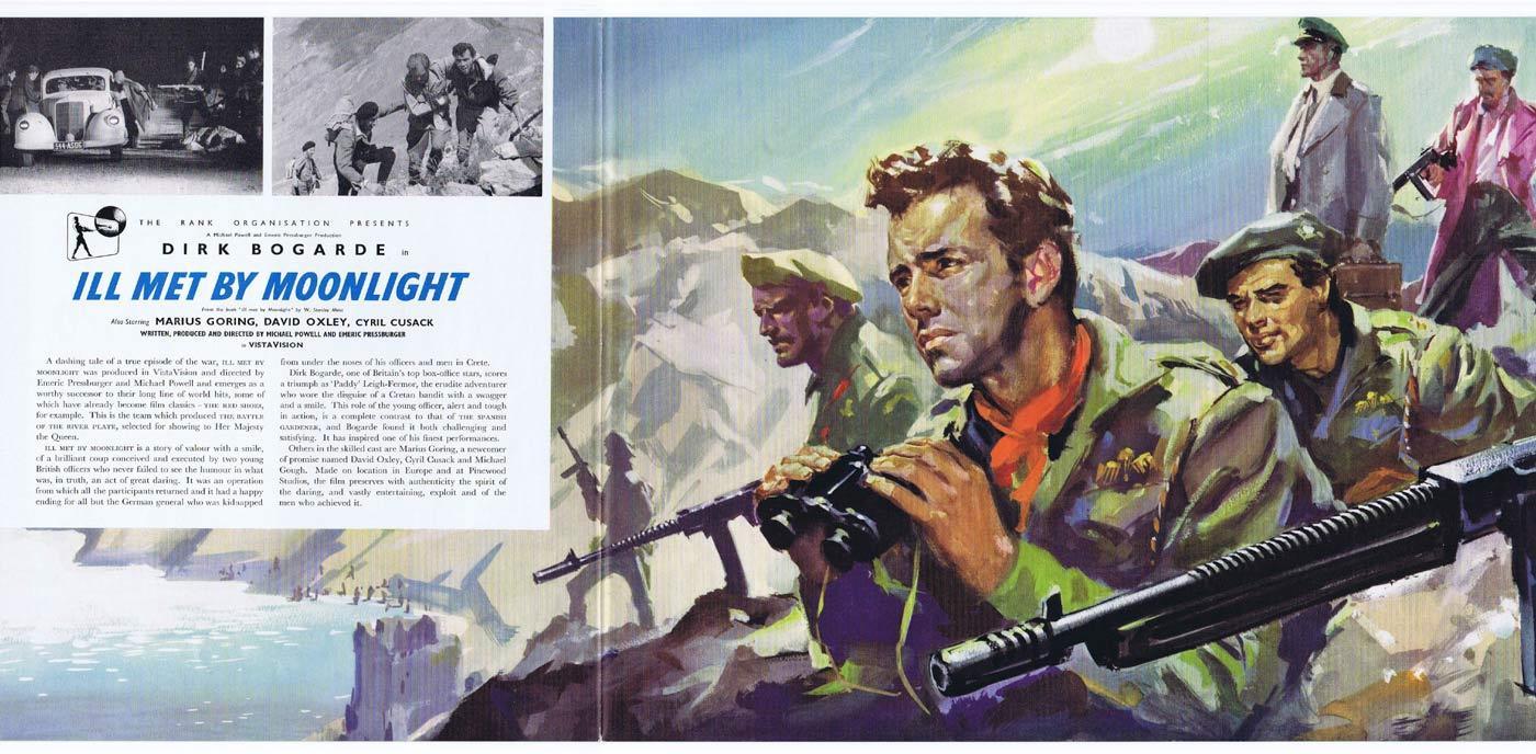 ILL MET BY MOONLIGHT Original Movie Trade Ad Dirk Bogarde