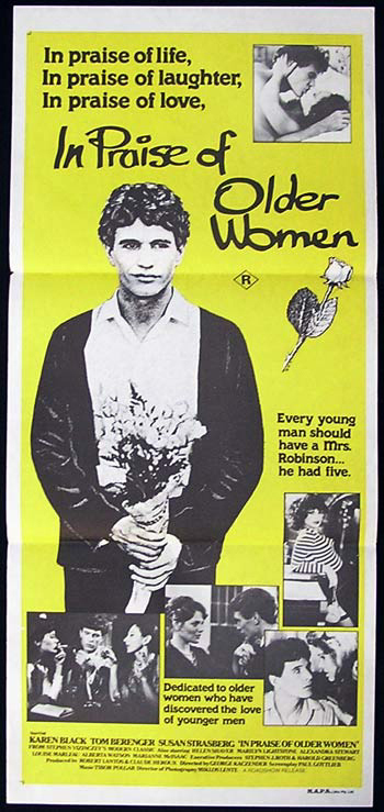 IN PRAISE OF OLDER WOMEN Original Daybill Movie Poster Tom Berenger