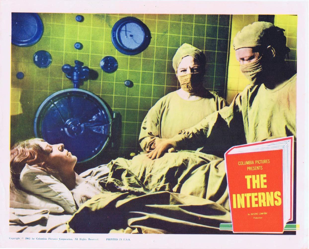 THE INTERNS Lobby Card 2 Michael Callan Cliff Robertson