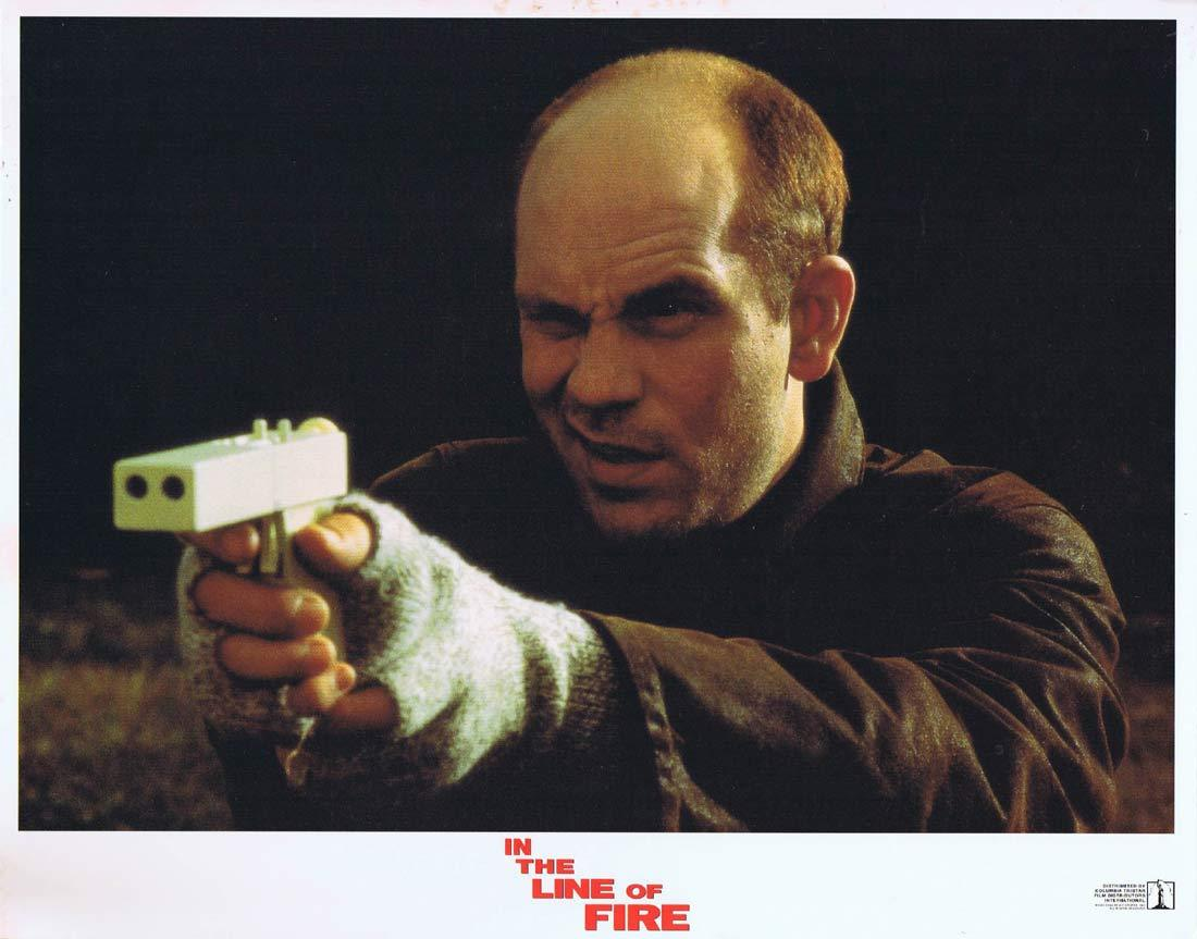 IN THE LINE OF FIRE Original Lobby Card 1 Clint Eastwood John Malkovich