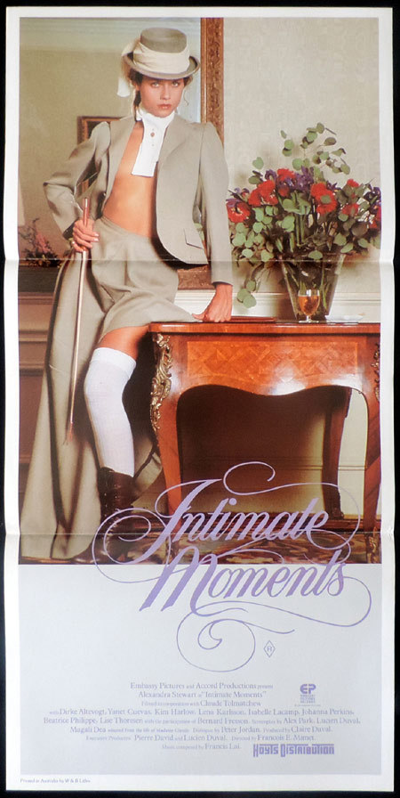 INTIMATE MOMENTS aka MADAME CLAUDE 2 Original Daybill Movie poster