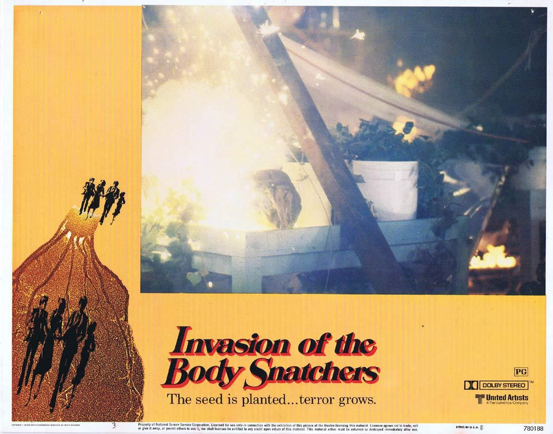 INVASION OF THE BODY SNATCHERS Lobby Card 3 Donald Sutherland