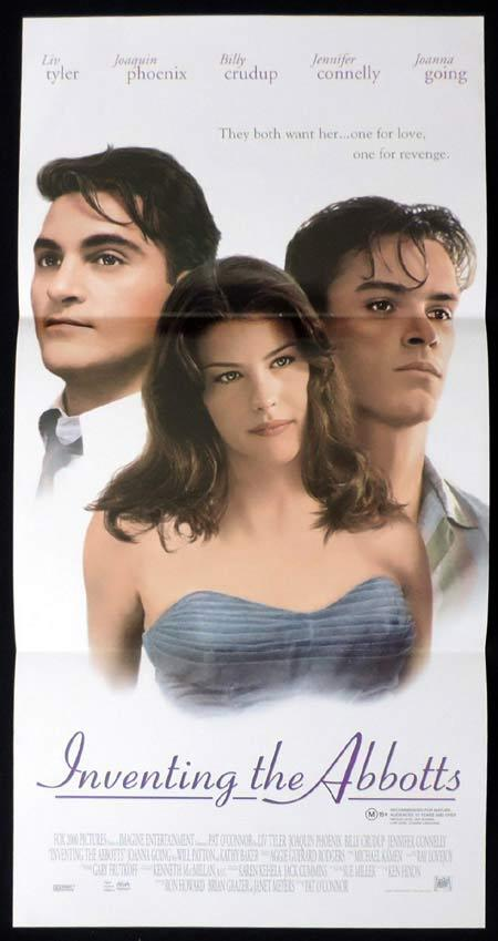 INVENTING THE ABBOTTS Original Daybill Movie Poster Joaquin Phoenix Liv Tyler