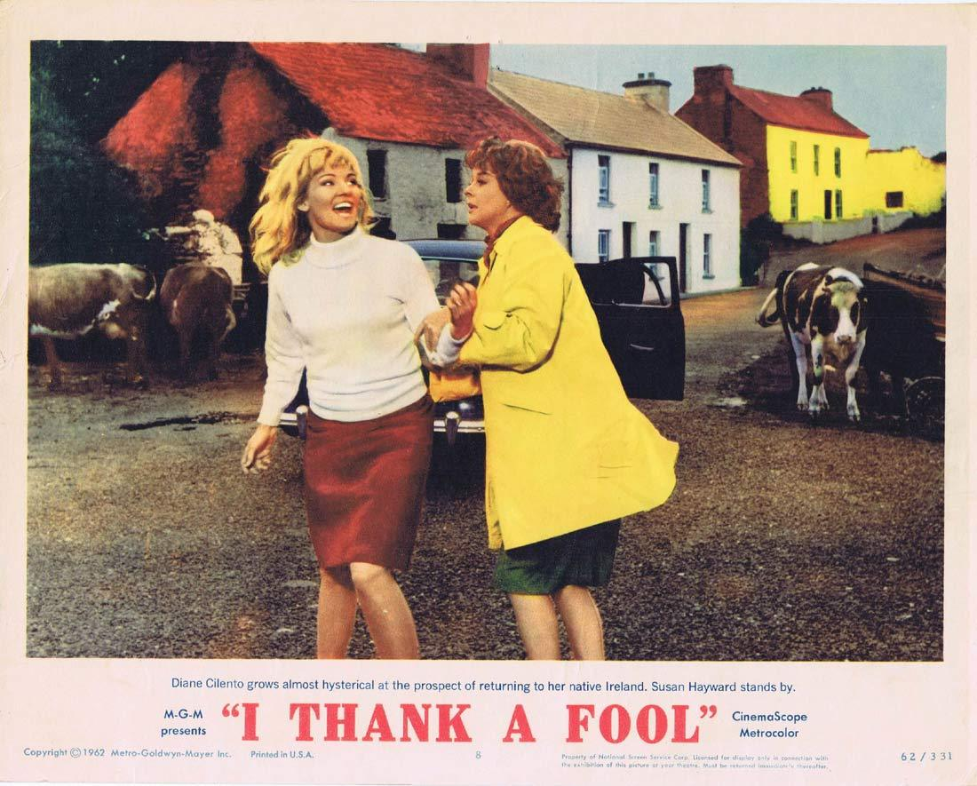I THANK A FOOL Original Lobby Card 8 Susan Hayward Peter Finch