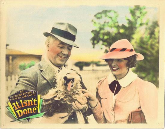 IT ISN'T DONE Lobby Card 4 1937 Ken G Hall VINTAGE Australian Movie