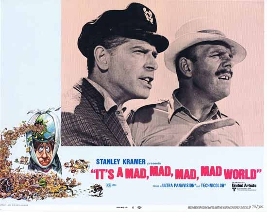 IT'S A MAD MAD MAD MAD WORLD 1970r Terry-Thomas Milton Berle Lobby Card 6