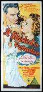 IT STARTED IN PARADISE Original Daybill Movie Poster Jane Hylton