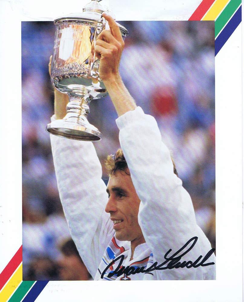 IVAN LENDL Autograph 8 x 10 Photo Tennis Wimbledom