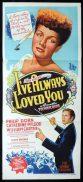 I'VE ALWAYS LOVED YOU Original Daybill Movie Poster Catherine McLeod Phillip Dorn