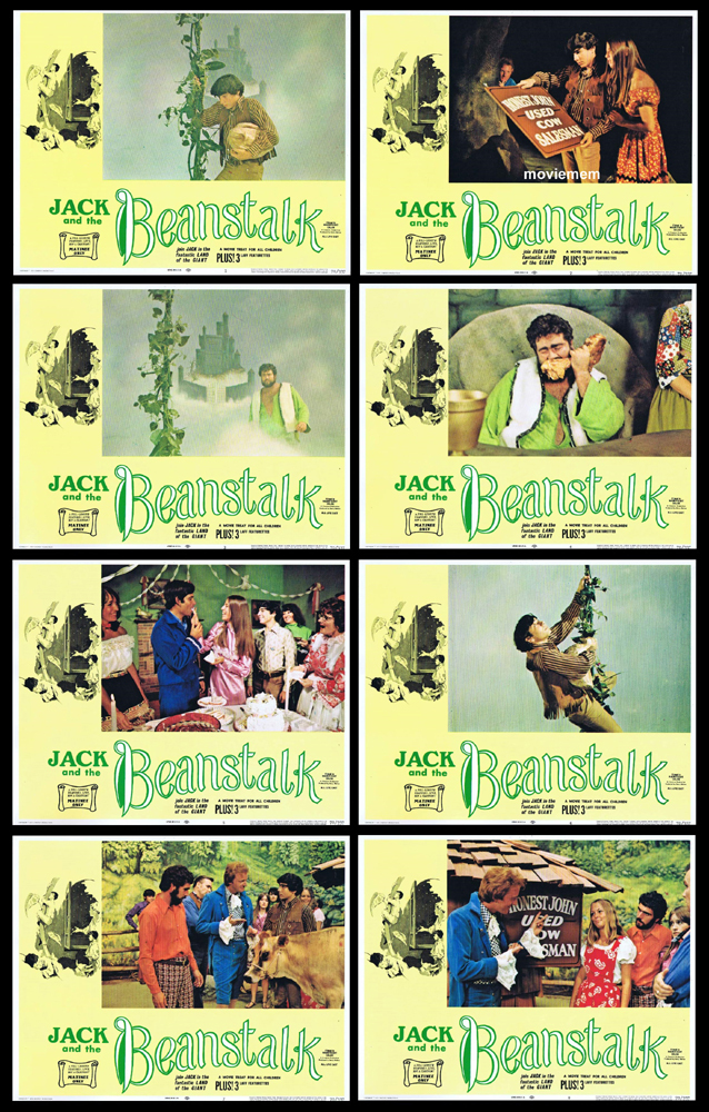 JACK AND THE BEANSTALK Original Lobby Card Set BArry Mahon