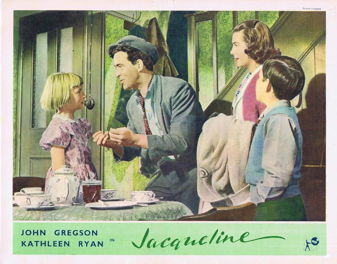 JACQUELINE Original Lobby card 3 1956 John Gregson British Cinema