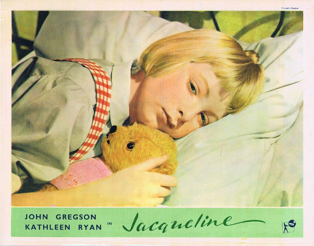 JACQUELINE Original Lobby card 4 1956 John Gregson British Cinema