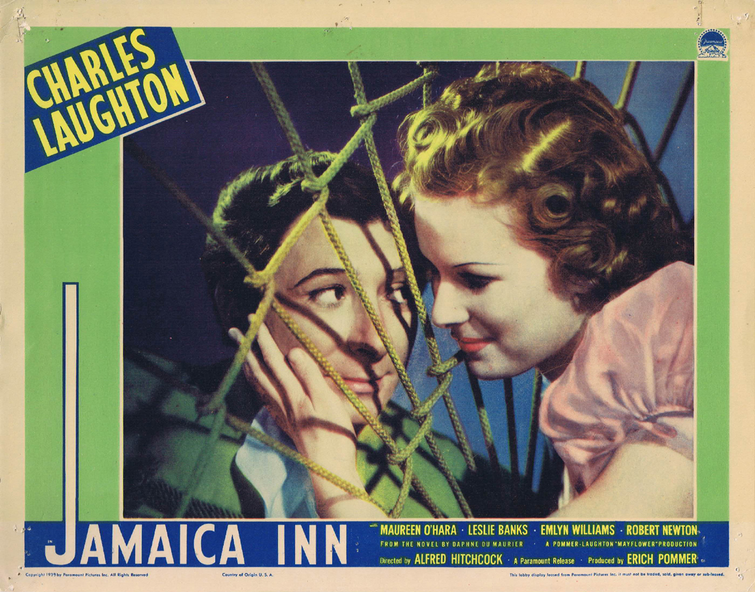 JAMAICA INN Lobby card 1939 Alfred Hitchcock