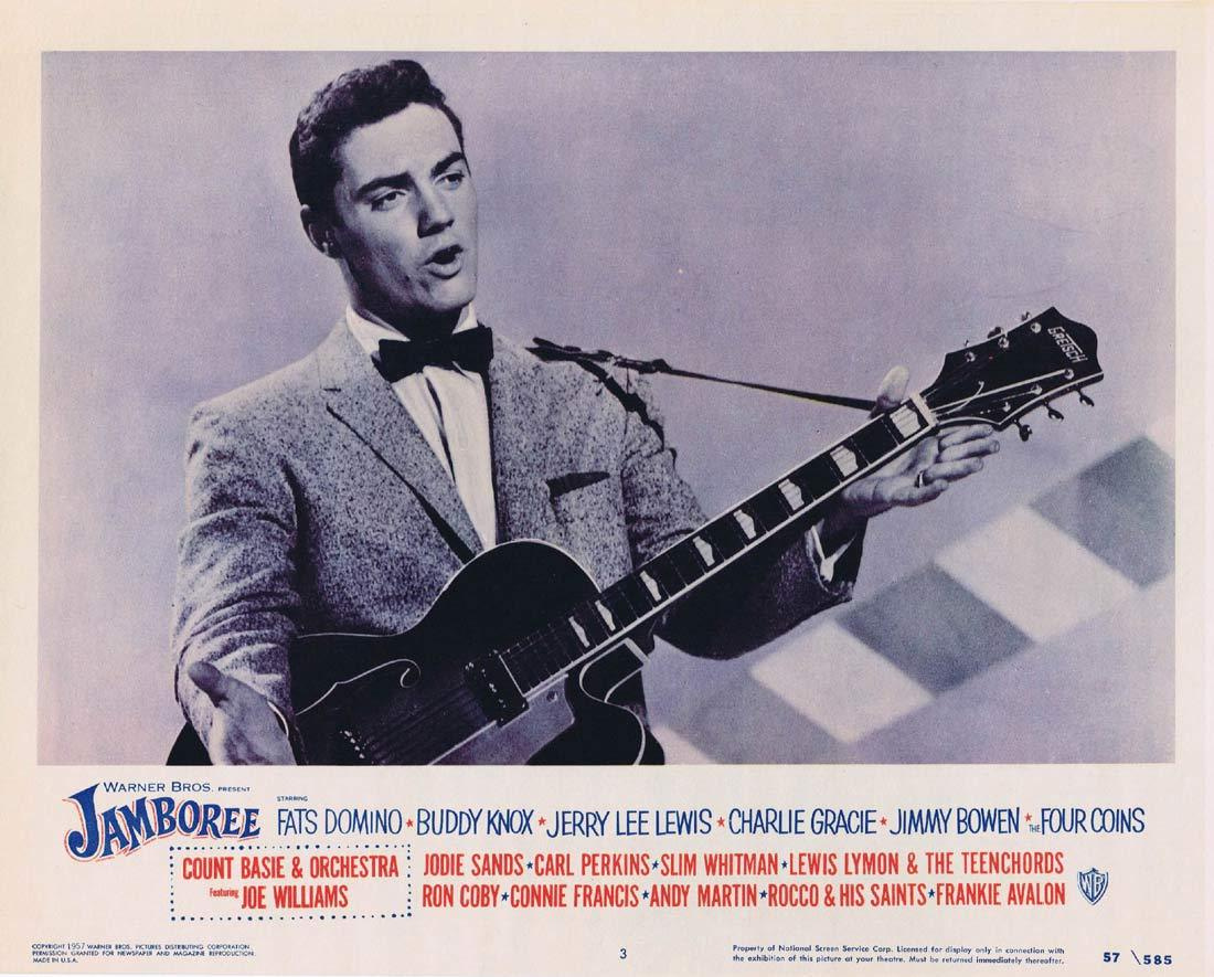 JAMBOREE Lobby card 3 1957 Jazz Rock and Roll Jerry Lee Lewis