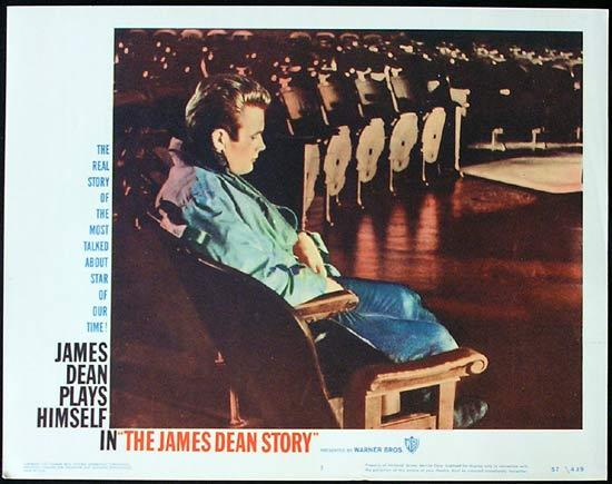 THE JAMES DEAN STORY 1957 Rare ORIGINAL Lobby card 1