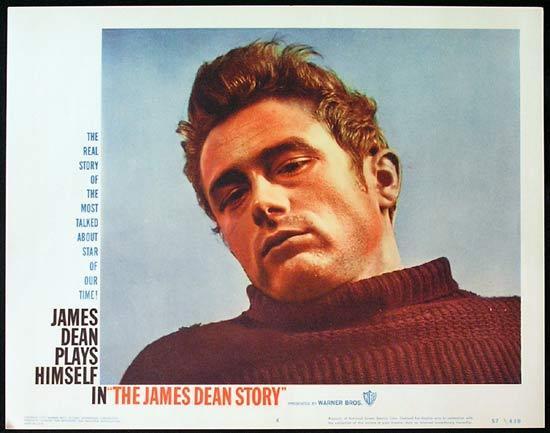 THE JAMES DEAN STORY 1957 Rare ORIGINAL Lobby card 4