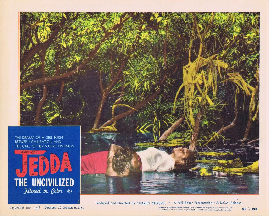 JEDDA THE UNCIVILIZED Lobby Card 8 1955 Charles Chauvel Ngarla Kunoth