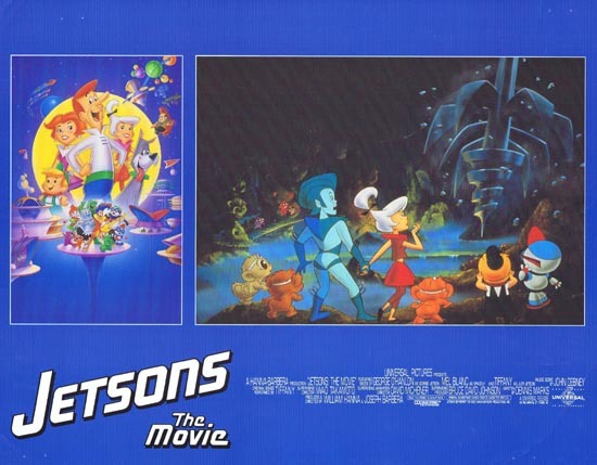 THE JETSONS Hannah Barbera Rare Lobby card