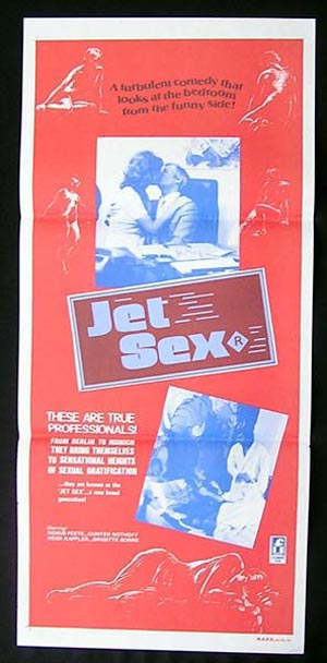 JET SEX aka Easy Come, Easy Go 1976 Sexploitation daybill Movie Poster