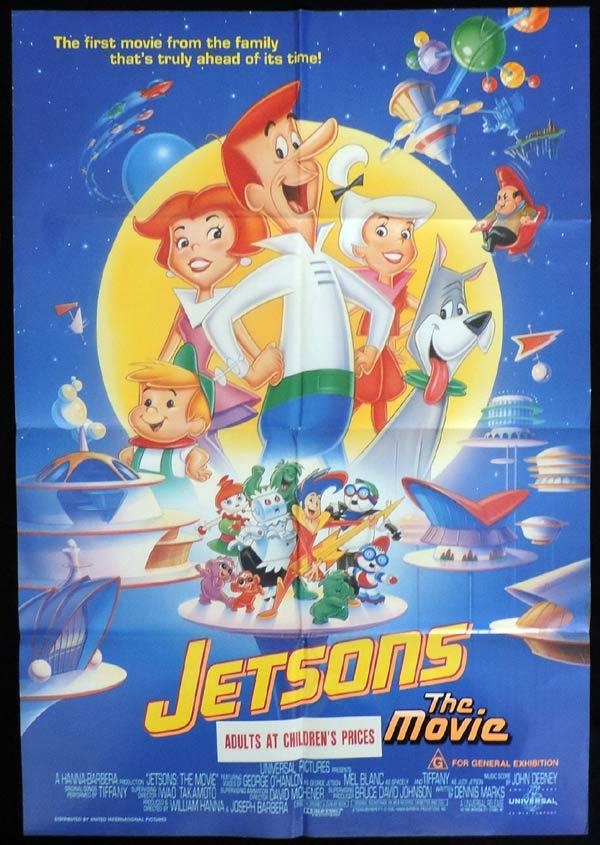 JETSONS THE MOVIE One Sheet Movie Poster Hanna Barbera