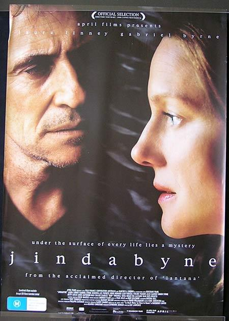 JINDABYNE Movie Poster 2006 Chris Haywood Australian one sheet