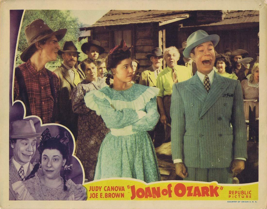 JOAN OF OZARK Lobby Card Judy Canova Joe E. Brown Eddie Foy Jr.