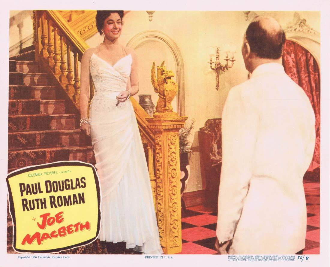 JOE MACBETH Original Lobby Card 4 Paul Douglas Ruth Roman Bonar Colleano