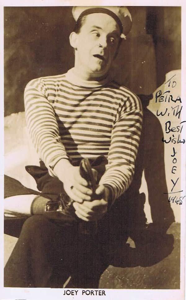 JOEY PORTER Autograph 1948 Date with a Dream