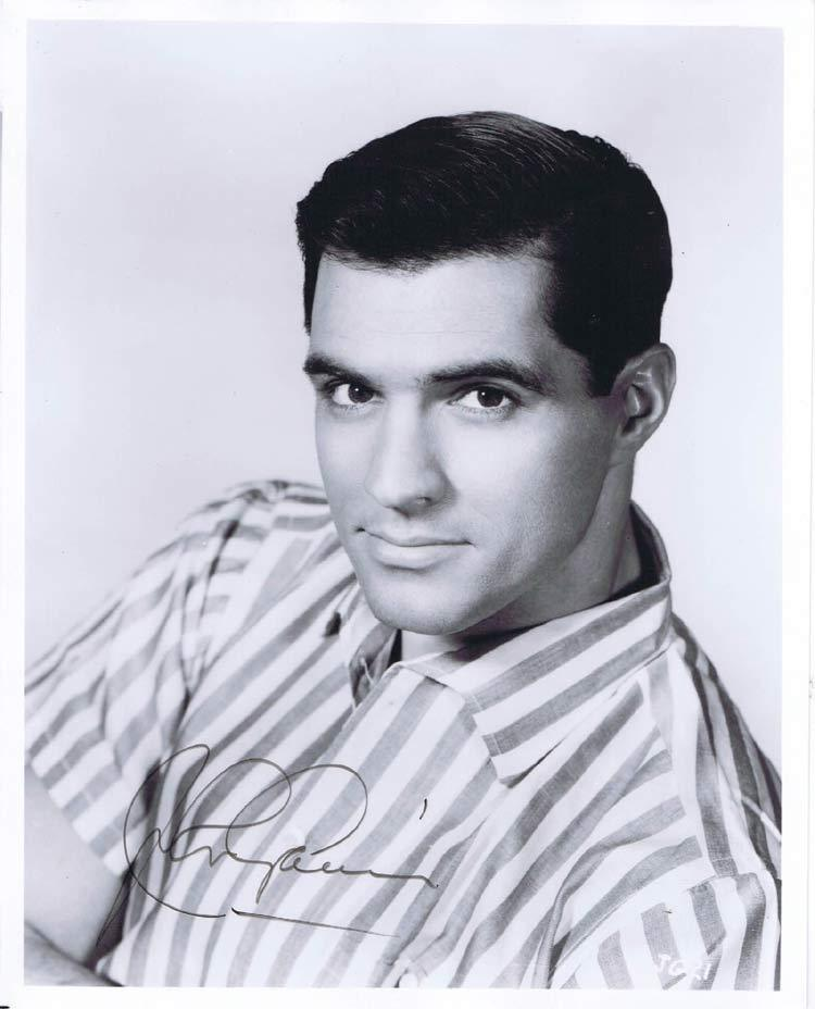 John Gavin, Autograph, Signature, Hollywood Show, Los Angeles, Psycho