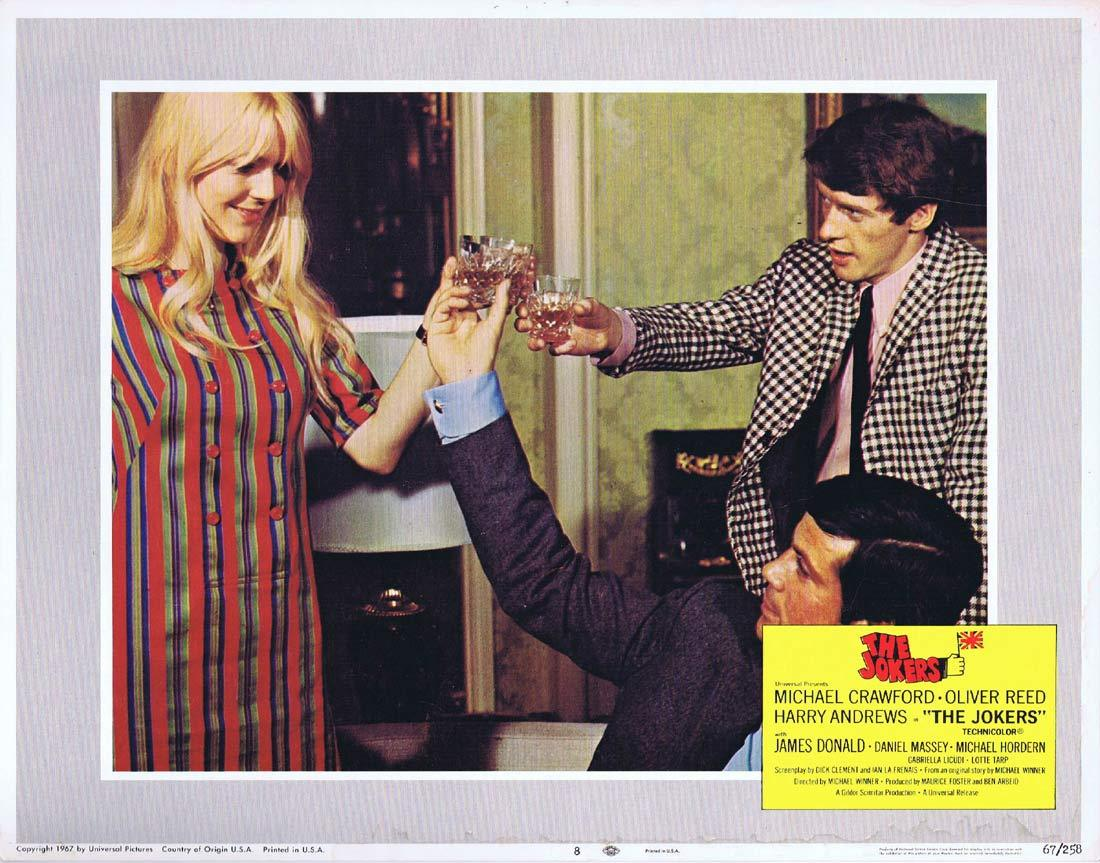 THE JOKERS Lobby Card 8 Michael Crawford Oliver Reed