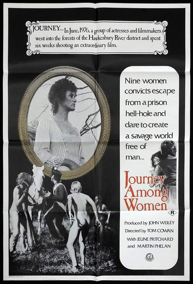 JOURNEY AMONG WOMEN Movie poster 1977 Australian Cinema One Sheet