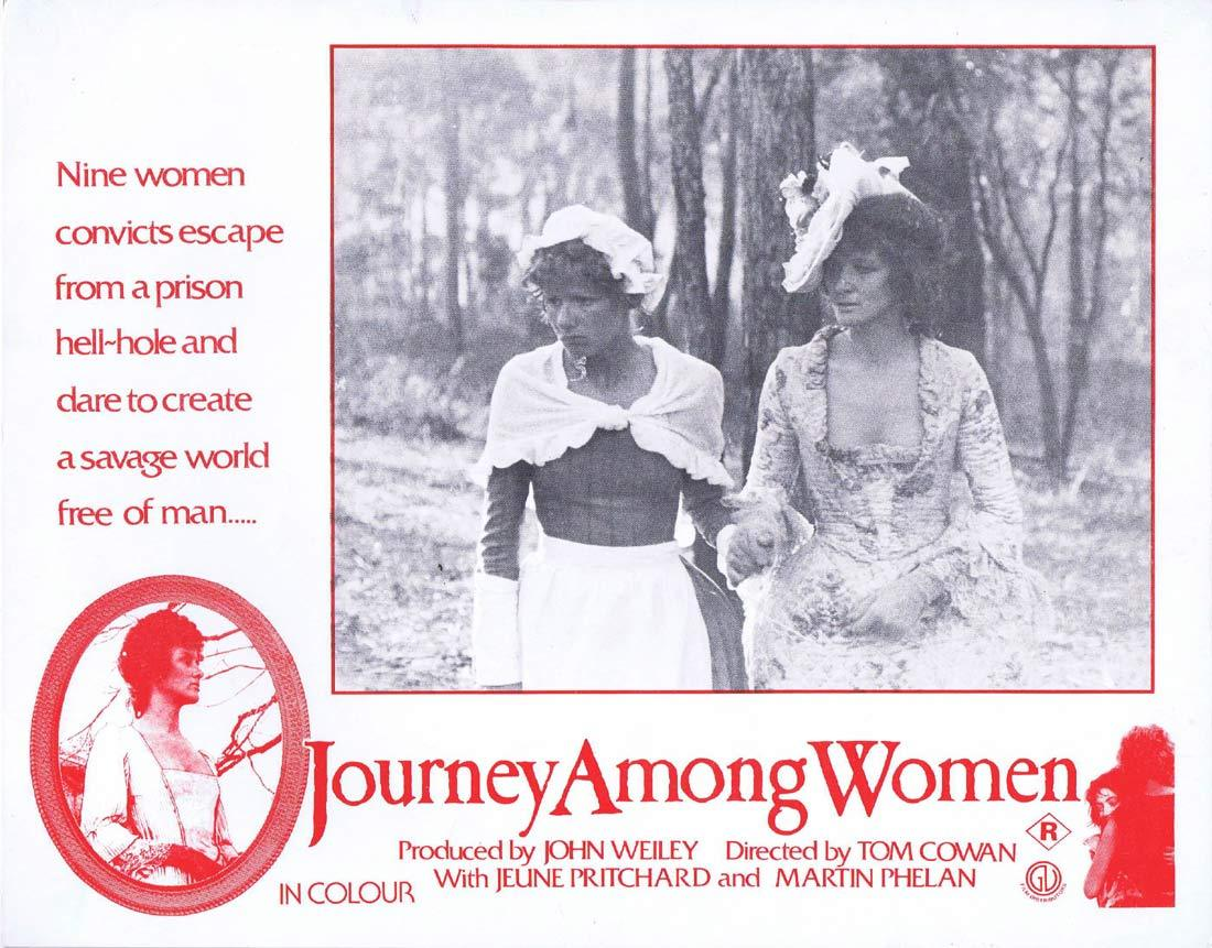 JOURNEY AMONG WOMEN Original Lobby Card Jeune Pritchard Martin Phelan