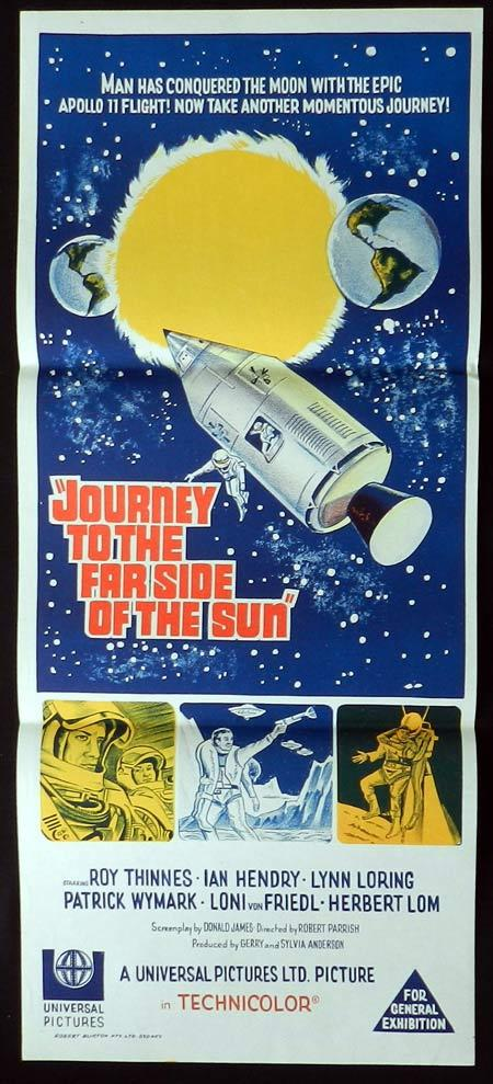 JOURNEY TO THE FAR SIDE OF THE SUN Original Daybill Movie Poster Roy Thinnes Ian Hendry Sci Fi