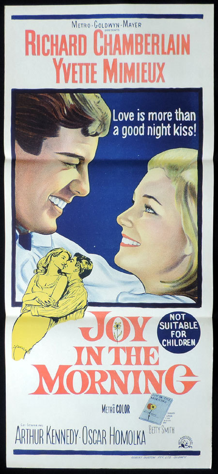 JOY IN THE MORNING Daybill Movie Poster Richard Chamberlain
