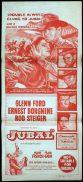 JUBAL Australian Daybill Movie poster Glenn Ford Rod Steiger